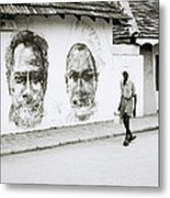 Kochi Urban Art Metal Print