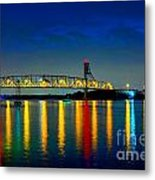 Kodachrome Bridge Metal Print