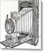 Kodak 3a Autographic Metal Print