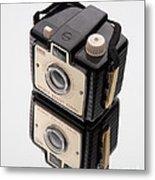 Kodak Brownie Bullet Camera Mirror Image Metal Print
