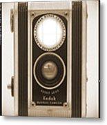 Kodak Duaflex Camera Metal Print