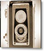 Kodak Duaflex Iv Camera Metal Print