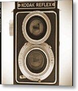 Kodak Reflex Camera Metal Print