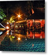 Koh Samui Beach Resort Metal Print