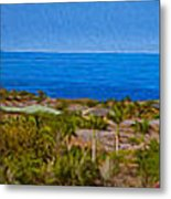 Kohala Coast Panorama Metal Print