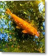 Koi Fish 1 Metal Print