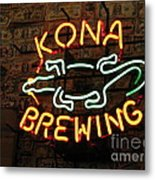 Kona Brewing Company Metal Print