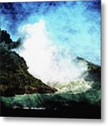 Kona Sea Metal Print
