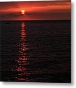 Kona Sunset Metal Print