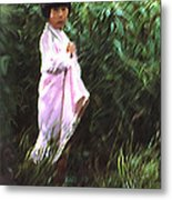 Korean Child Metal Print by Dale Stillman