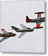 Korean War Flight Metal Print