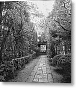 Koto-in Temple Stone Path Metal Print
