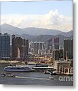 Kowloon In Hong Kong Metal Print