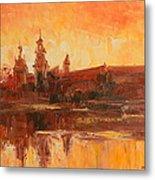 Krakow - Wawel Impression Metal Print