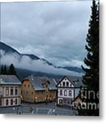 Kranjska Gora - Autumnal Evening Metal Print