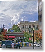 Kress Building Asheville Metal Print