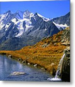 Kreuzboden Lake Metal Print