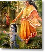 Krishna Damodara Metal Print