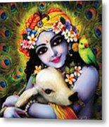 Krishna Gopal Metal Print by Lila Shravani