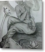 Krishna Metal Print