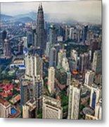 Kuala Lumpur City Metal Print