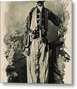 Kurdish Tribal Leader Metal Print
