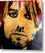 Kurt Cobain 3 Metal Print