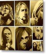 Kurt Mosaic Metal Print