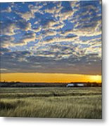 Kyle Barn Sunrise Metal Print
