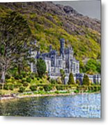 Kylemore Abbey Metal Print