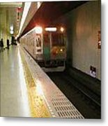 Kyoto By Subway 1 Metal Print