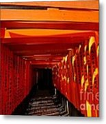 Kyoto Fushimi Shrine-5 Metal Print