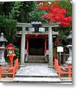 Kyoto Untitled 4 Metal Print by Shawn Lyte