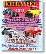 L C Rodrunner Car Show Poster Metal Print
