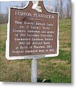 La-020 Fashion Plantation Metal Print