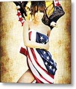 La Americana Metal Print by D H Carter