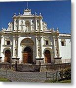 La Antigua Cathedral Metal Print