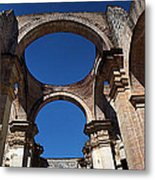 La Antigue Cathedral Ruin Metal Print