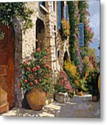 La Bella Strada Metal Print by Guido Borelli