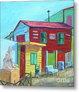 La Boca Morning I Metal Print