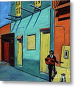La Boca Morning II Metal Print