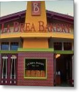 La Brea Bakery Downtown Disneyland Metal Print