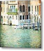 La Canal - Venice Metal Print