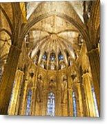 La Catedral Barcelona Cathedral Metal Print