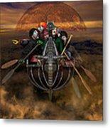 La Chasse-galerie 4 Metal Print
