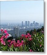 L.a. From Beverly Hills Metal Print