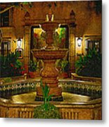La Fuente At Tlaquepaque Metal Print