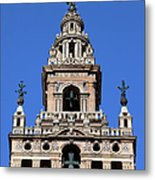 La Giralda Belfry In Seville Metal Print