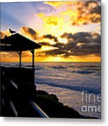 La Jolla At Sunset By Diana Sainz Metal Print by Diana Sainz