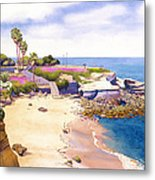 La Jolla Cove Metal Print by Mary Helmreich